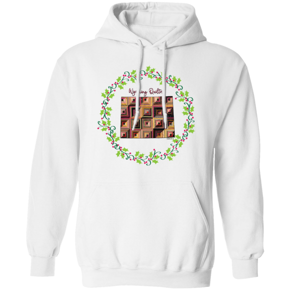Wyoming Quilter Christmas Pullover Hoodie