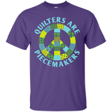 Quilters are Piecemakers Custom Ultra Cotton T-Shirt - Crafter4Life - 11