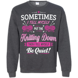 Put the Knitting Down Crewneck Sweatshirts - Crafter4Life - 9