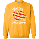 Quilters Make Better Comforters Crewneck Sweatshirts - Crafter4Life - 8
