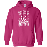 Most of My Life (Quilting) Pullover Hoodies - Crafter4Life - 6