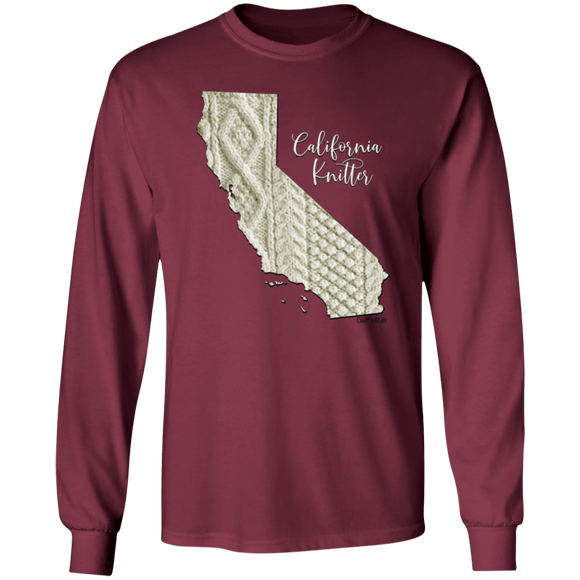 California Knitter LS Ultra Cotton T-Shirt