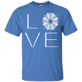 LOVE Quilting Custom Ultra Cotton T-Shirt - Crafter4Life - 6