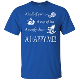 A Happy Me Custom Ultra Cotton T-Shirt - Crafter4Life - 11