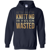 Time Spent Knitting Pullover Hoodies - Crafter4Life - 3