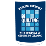 Weekend Forecast Quilting White Mugs