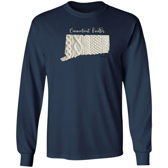 Connecticut Knitter LS Ultra Cotton T-Shirt