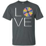 LOVE Quilting (Primary Colors) Custom Ultra Cotton T-Shirt - Crafter4Life - 6