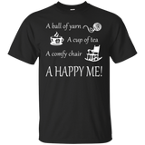 A Happy Me Custom Ultra Cotton T-Shirt - Crafter4Life - 3