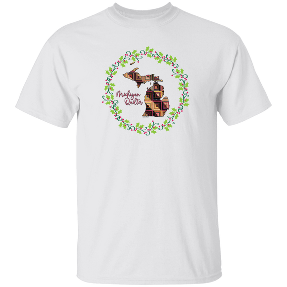Michigan Quilter Christmas T-Shirt