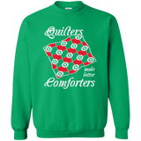 Quilters Make Better Comforters Crewneck Sweatshirts - Crafter4Life - 3