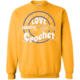 Time to Crochet Crewneck Sweatshirts - Crafter4Life - 7