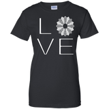 LOVE Quilting Ladies Custom 100% Cotton T-Shirt - Crafter4Life - 2