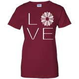 LOVE Quilting Ladies Custom 100% Cotton T-Shirt - Crafter4Life - 3