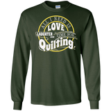 Time for Quilting Long Sleeve Ultra Cotton T-Shirt - Crafter4Life - 4
