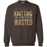 Time Spent Knitting Crewneck Sweatshirt - Crafter4Life - 7