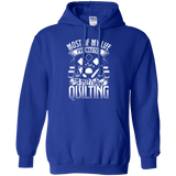 Most of My Life (Quilting) Pullover Hoodies - Crafter4Life - 12
