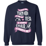 A Ball Of Yarn Crewneck Pullover Sweatshirt