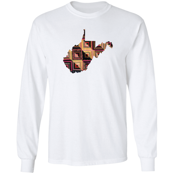 West Virginia Quilter LS Ultra Cotton T-Shirt