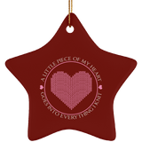 Piece of My Heart (Knit) Ornaments