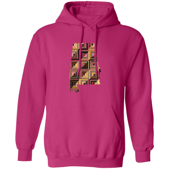 Alabama Quilter Pullover Hoodie