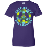 Quilters are Piecemakers Ladies Custom 100% Cotton T-Shirt - Crafter4Life - 10