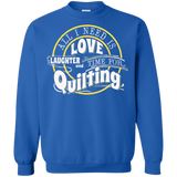 Time for Quilting Crewneck Sweatshirts - Crafter4Life - 6