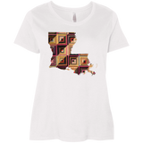 Louisiana Quilter Ladies Curvy Full-Figure T-Shirts