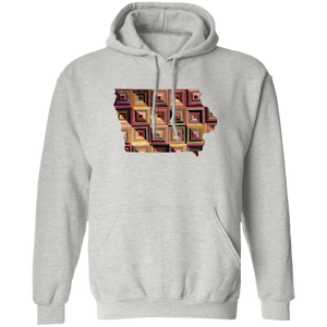 Iowa Quilter Pullover Hoodie