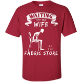 Waiting at the Fabric Store Men's and Unisex T-Shirts - Crafter4Life - 5