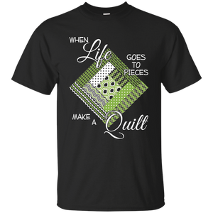 Make a Quilt (Greenery) Ultra Cotton T-Shirt