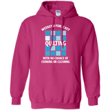 Weekend Forecast Quilting Pullover Hoodie