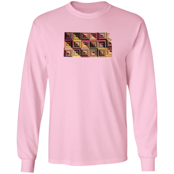 Kansas Quilter LS Ultra Cotton T-Shirt