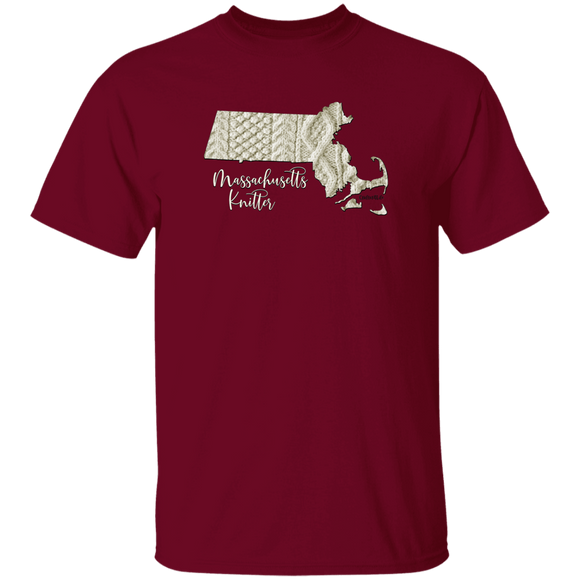 Massachusetts Knitter Cotton T-Shirt