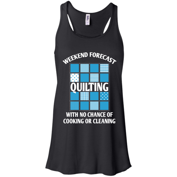 Weekend Forecast: Quilting Flowy Racerback Tank