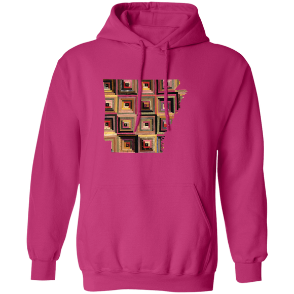 Arkansas Quilter Pullover Hoodie