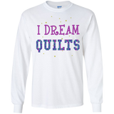 I Dream Quilts Long Sleeve Ultra Cotton T-Shirt - Crafter4Life - 2