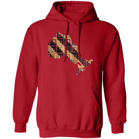 Ontario Quilter Pullover Hoodie