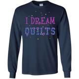 I Dream Quilts Long Sleeve Ultra Cotton T-Shirt - Crafter4Life - 6
