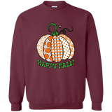 Happy Fall! Crewneck Pullover Sweatshirt