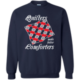 Quilters Make Better Comforters Crewneck Sweatshirts - Crafter4Life - 4