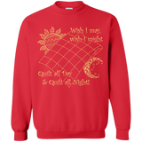 Wish I May Quilt Crewneck Sweatshirts - Crafter4Life - 4