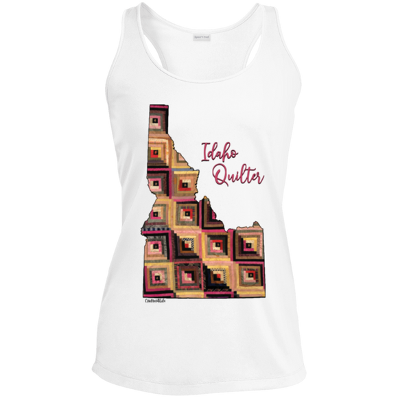 Idaho Quilter Ladies' Racerback Moisture Wicking Tank