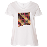 New Mexico Quilter Ladies Curvy Full-Figure T-Shirts