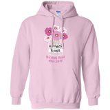 Happiness Blooms with Crafts Pullover Hoodie 8 oz - Crafter4Life - 5