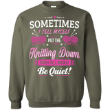 Put the Knitting Down Crewneck Sweatshirts - Crafter4Life - 8