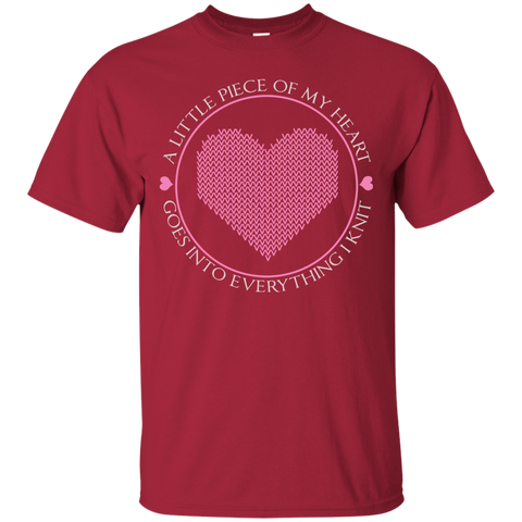 Piece of My Heart (Knit) Ultra Cotton T-Shirt