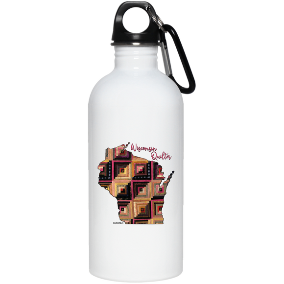 Wisconsin Quilter Stainless Steel Water Bottle