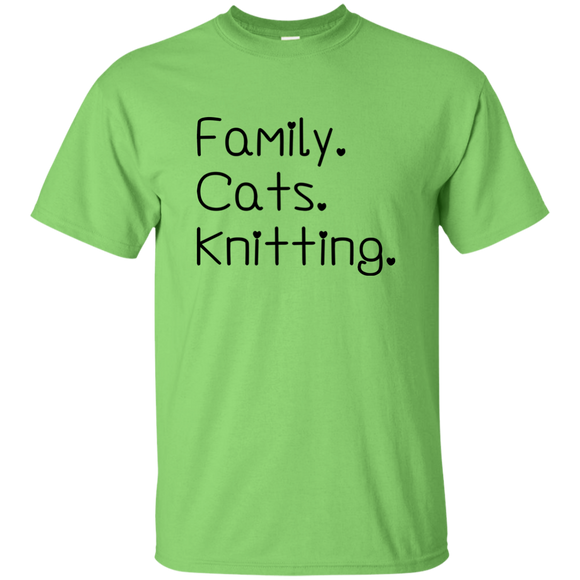 Family-Cats-Knitting Ultra Cotton T-Shirt