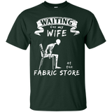 Waiting at the Fabric Store Men's and Unisex T-Shirts - Crafter4Life - 3